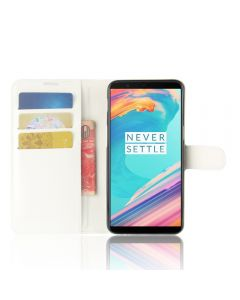 OnePlus 5T Phone Case Wallet Flip Cover Leather Stand Display Card Pocket