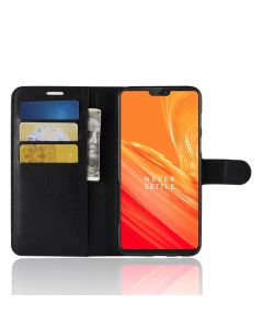 OnePlus 6 Phone Case Wallet Flip Cover Leather Stand Display Card Pocket