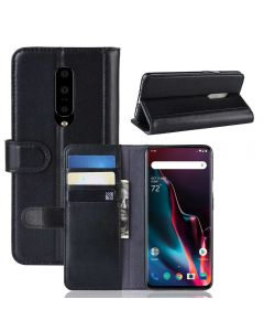 OnePlus 7 Pro Phone Case Wallet Flip Cover Folio Genuine Leather Case Stand Display Card Pocket