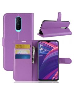 OPPO R17 Pro Phone Case Wallet Flip Cover Folio Leather Case Stand Display Card Pocket