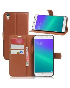 OPPO R9 Plus Phone Case Wallet Flip Cover Folio Leather Case Stand Display Card Pocket