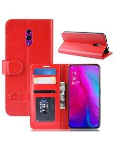 OPPO Reno Flip Folio Leather Wallet Case with ID and Credit Card Pockets