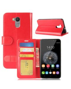 Oukitel U15 Pro Flip Folio Leather Wallet Case with ID and Credit Card Pockets