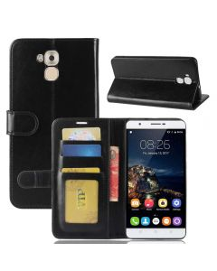 Oukitel U16 MAX Flip Folio Leather Wallet Case with ID and Credit Card Pockets