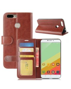 Oukitel U20 Plus Flip Folio Leather Wallet Case with ID and Credit Card Pockets