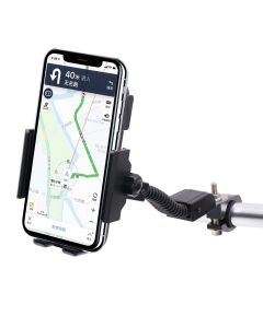 Phones holder wireless charging 360° rotation bracket for motorcycle