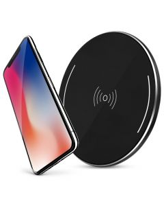 Qi Wireless Charger with Anti-Slip Rubber for iPhone X and All Qi-Enabled Phone