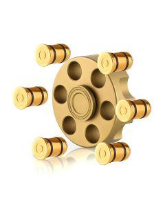 Resolver Cylinder Fidget Spinner Metal Gun Bullet Resolver Fidget Spinner