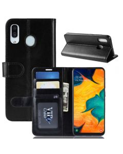 Samsung A30 /Samsung A20 Flip Folio Leather Wallet Case with ID and Credit Card Pockets