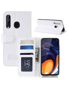 Samsung Galaxy A60 Flip Folio Leather Wallet Case with ID and Credit Card Pockets