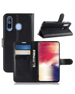 Samsung Galaxy A8s Phone Case Wallet Flip Cover Folio Leather Case Stand Display Card Pocket