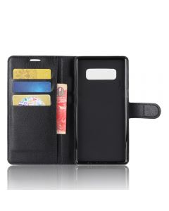 Samsung Galaxy Note 8 Phone Case Ultra Slim Wallet Flip Cover Leather Kickstand Card Pocket