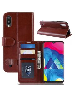 Samsung M10 Flip Folio Leather Wallet Case with ID and Credit Card Pockets