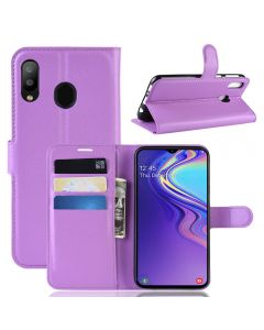 Samsung M20 Phone Case Wallet Flip Cover Folio Leather Case Stand Display Card Pocket