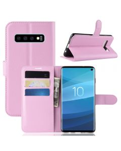 Samsung S10 Phone Case Wallet Flip Cover Folio Leather Case Stand Display Card Pocket