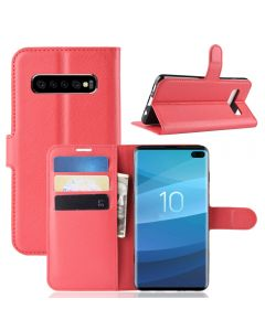 Samsung S10 Plus Phone Case Wallet Flip Cover Folio Leather Case Stand Display Card Pocket