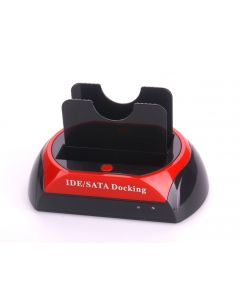 USB2.0 Dual HDD Docking IDE Sata ALL in 1 HDD Docking One Touch Backup + HUB