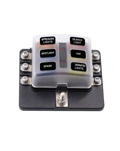 Screw terminal Fuse block Fuse box with led indicator