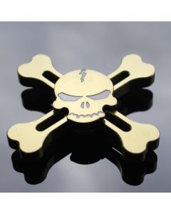 Skull and crossbones Fidget Spinner Aluminum Alloy cool Hand Spinner