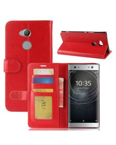 Sony XA2 ultra Flip Folio Leather Wallet Case with ID and Credit Card Pockets
