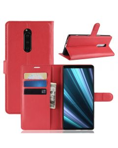 Sony Xperia XZ4 Phone Case Wallet Flip Cover Folio Leather Case Stand Display Card Pocket