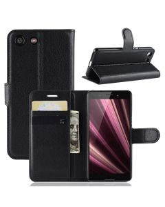 Sony XZ4 Compact Phone Case Wallet Flip Cover Folio Leather Case Stand Display Card Pocket