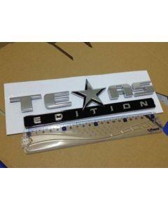 Chrome 3D TEXAS EDITION for SILVERADO SIERRA TAHOE SUBURBAN Emblem Badge Sticker