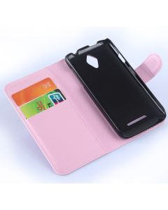 Vodafone Smart 4 Phone Case Wallet Flip Cover Leather Stand Display Card Pocket