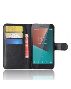 Orange Dive 71 Wallet Flip Cover Leather Kickstand Phone Case