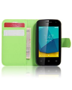 Vodafone Smart first 7 VF200 Phone Case Wallet Flip Cover Leather Stand Display Card Pocket