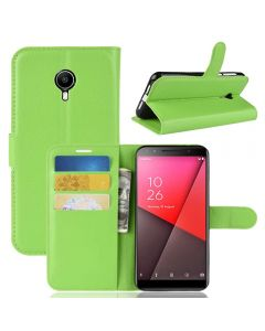 Vodafone Smart N9 Lite Phone Case Wallet Flip Cover Folio Leather Case Stand Display Card Pocket