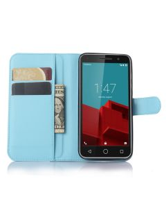 Vodafone Smart prime 6/VF-V895N Phone Case Wallet Flip Cover Leather Stand Display Card Pocket