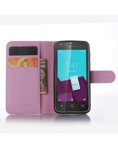 Vodafone Smart speed 6 VF795 Phone Case Wallet Flip Cover Leather Stand Display Card Pocket