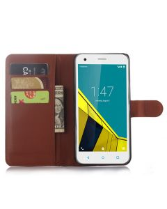 Vodafone Smart ultra 6 VF995N Phone Case Wallet Flip Cover Leather Stand Display Card Pocket