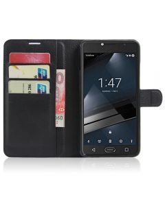 Vodafone Smart ultra 7 Phone Case Wallet Flip Cover Leather Stand Display Card Pocket