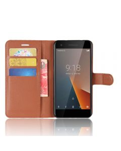 Vodafone Smart N8 Wallet Flip Cover Leather Kickstand Phone Case
