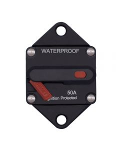 Weatherproof Circuit Breakers with Switch Ignition Protected Panel Mount Manual Reset E99