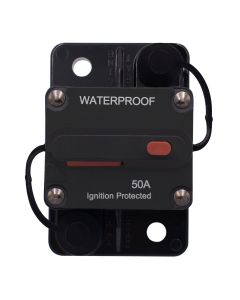 Weatherproof Circuit Breaker with Switch Ignition Protected Panel Mount Manual Reset E99