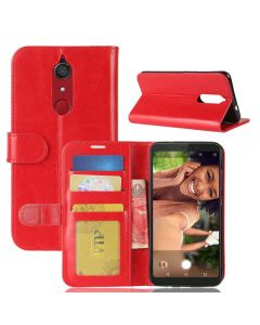 Wiko View XL Flip Folio Leather Wallet Case with ID and Credit Card Pockets