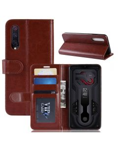 Xiaomi Mi 9/Xiaomi 9 Explorer Flip Folio Leather Wallet Case with ID and Credit Card Pockets