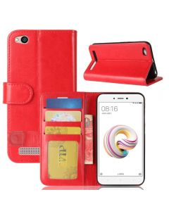 Xiaomi Redmi 5A Flip Folio Leather Wallet Case with ID and Credit Card Pockets