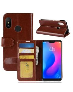 Xiaomi Redmi 6 Pro Flip Folio Leather Wallet Case with ID and Credit Card Pockets
