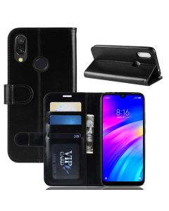 Xiaomi Redmi 7 Flip Folio Leather Wallet Case with ID and Credit Card Pockets