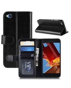 Xiaomi Redmi GO Flip Folio Leather Wallet Case with ID and Credit Card Pockets