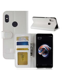 Xiaomi Redmi Note 5 Flip Folio Leather Wallet Case with ID and Credit Card Pockets