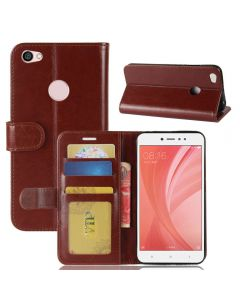 Xiaomi Redmi Note 5A /Xiaomi Redmi Note 5A prime Flip Folio Leather Wallet Case with ID and Credit Card Pockets