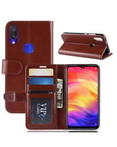 Xiaomi Redmi Note 7 Flip Folio Leather Wallet Case with ID and Credit Card Pockets