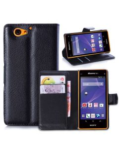 Xperia A2 Phone Case Wallet Flip Cover Folio Leather Case Stand Display Card Pocket