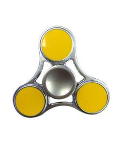 Zinc Alloy Hand Spinner Tri Fidget Focus Toy EDC Finger Spin Gyro ADHD Autism