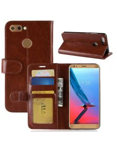 ZTE V9 Flip Folio Leather Wallet Case with ID and Credit Card Pockets